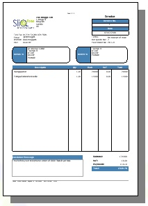 Nice Classic Invoice Style 1 Professional Invoice Style 1 Idea Invoice Style